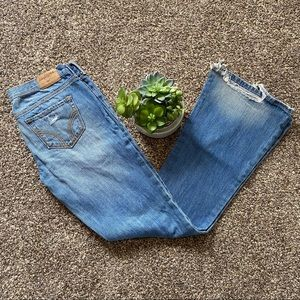 🎉50% Off🎉Hollister Distressed Bootcut Jeans
